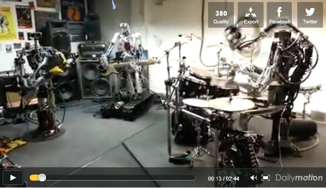 Robots play Motorhead