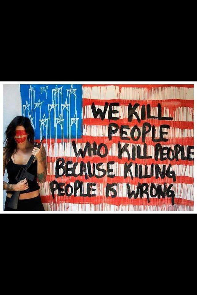 we kill people